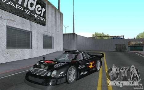 Mercedes-Benz CLK GTR road version (v2.0.0) für GTA San Andreas
