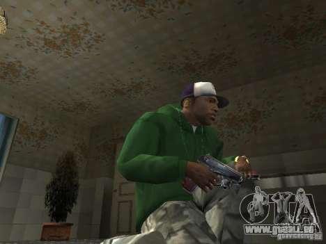 Pak intérieur armes V2 pour GTA San Andreas huitième écran