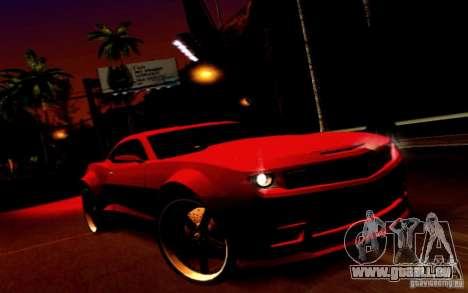 Chevrolet Camaro Tuning pour GTA San Andreas vue arrière