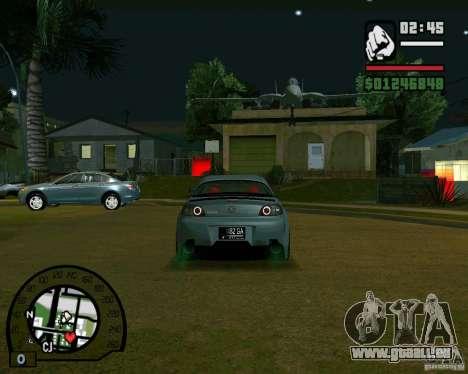 Mazda RX8 JDM Style pour GTA San Andreas vue de droite