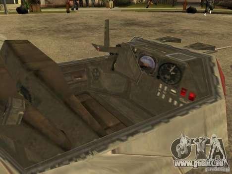 Gepäck aus Star Wars für GTA San Andreas Innenansicht
