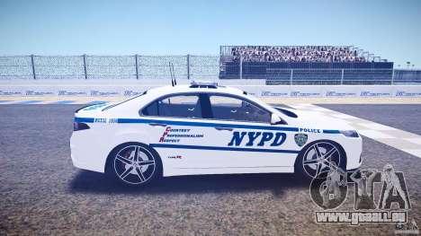 Honda Accord Type R NYPD (City Patro 1950l) ELS für GTA 4 Innenansicht