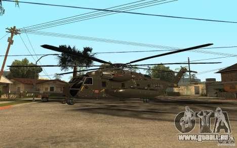 CH 53 für GTA San Andreas Rückansicht