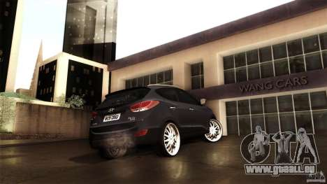 Hyundai iX35 Edit RC3D pour GTA San Andreas vue intérieure