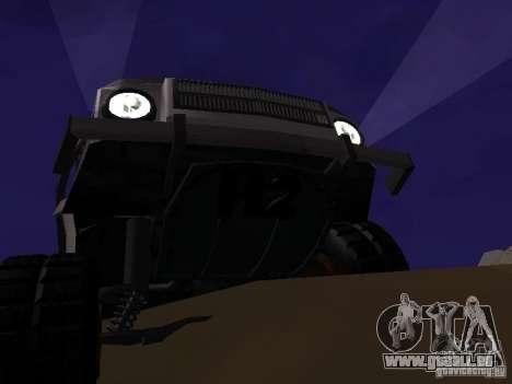 LuAZ 969 Offroad für GTA San Andreas Rückansicht