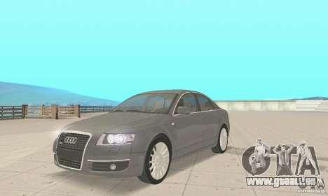 Audi A6 3.0 TDI quattro 2004 pour GTA San Andreas sur la vue arrière gauche