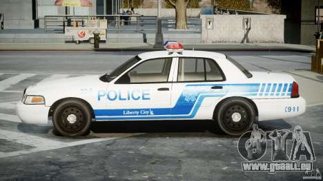 Ford Crown Victoria CVPI-V4.4M [ELS] für GTA 4 linke Ansicht