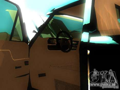 Ford F150 Off-Road für GTA San Andreas Innenansicht