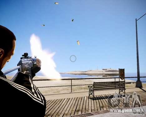AKS-74U pour GTA 4 cinquième écran