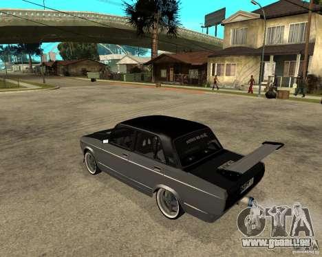 ВАЗ dérive de 2107 pour GTA San Andreas laissé vue