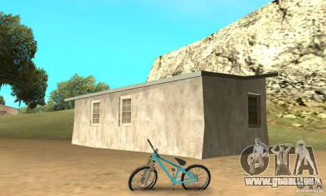 Dirt Jump Bike für GTA San Andreas zurück linke Ansicht