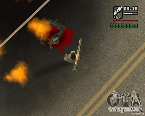 Real Ragdoll Mod Update 2011.09.15 für GTA San Andreas her Screenshot