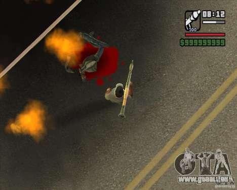 Real Ragdoll Mod Update 2011.09.15 pour GTA San Andreas quatrième écran