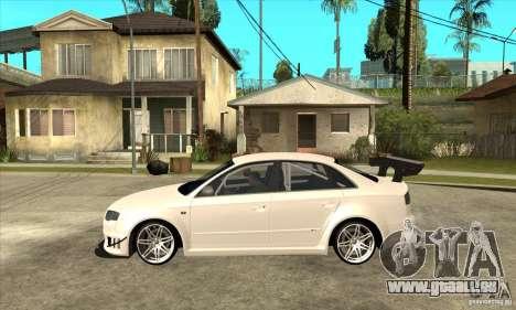 Audi RS4 2006 pour GTA San Andreas laissé vue