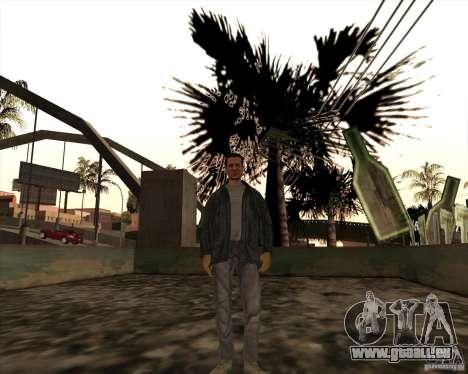 Rainures blanches pour GTA San Andreas deuxième écran