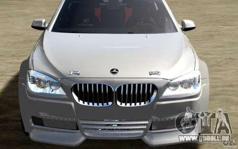 Écrans de menu et démarrage BMW HAMANN dans GTA  pour GTA San Andreas onzième écran