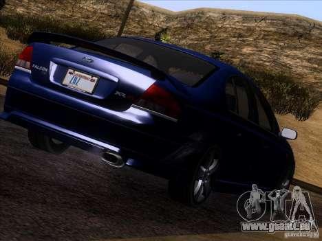 Ford Falcon für GTA San Andreas linke Ansicht