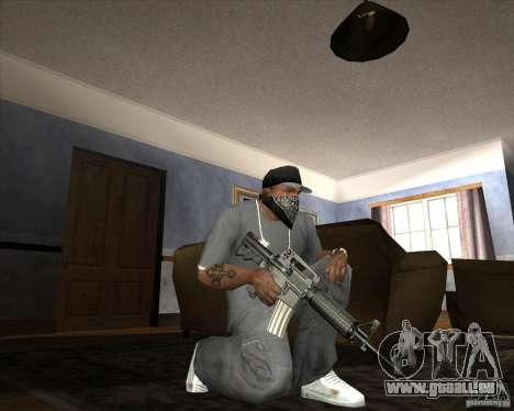 Jarra Mono Arsenal v1.2 für GTA San Andreas elften Screenshot