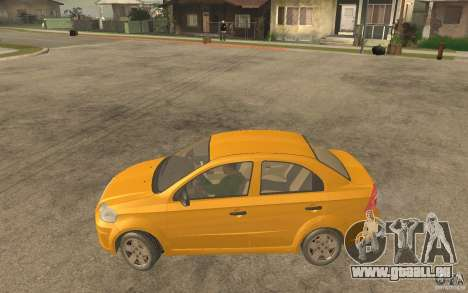 Chevrolet Aveo 2007 final für GTA San Andreas linke Ansicht
