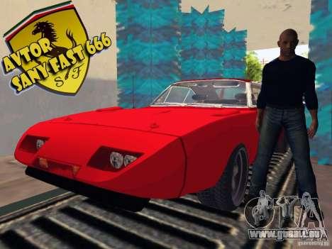 Dodge Charger Daytona Forsazh 6 für GTA San Andreas