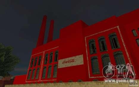 Die Coca-cola-Fabrik für GTA San Andreas zweiten Screenshot