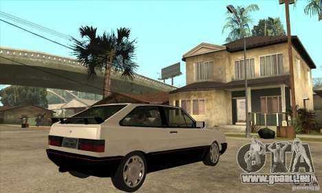 VW Gol GTS 1989 pour GTA San Andreas vue de droite