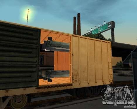 Nouvelle station de chemin de fer pour GTA San Andreas sixième écran