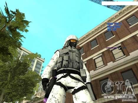 Spécial hiver pour GTA San Andreas deuxième écran