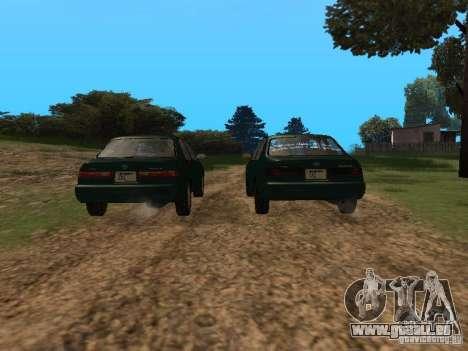 Toyota Camry Arabian Tuning für GTA San Andreas Innenansicht