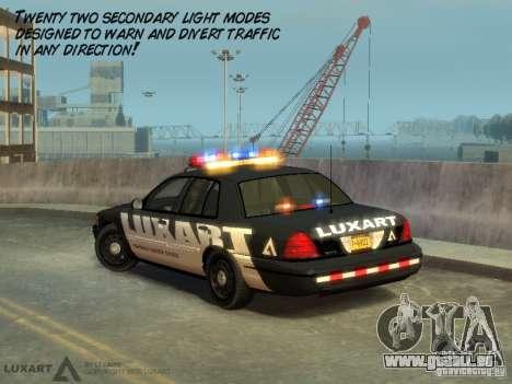 EMERGENCY LIGHTING SYSTEM V6 für GTA 4 fünften Screenshot
