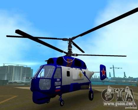 Ka-27 für GTA Vice City Rückansicht
