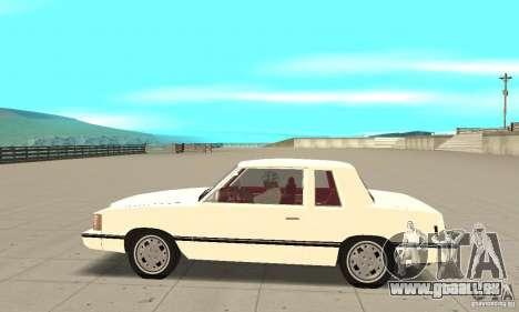 Dodge Aries 1983 pour GTA San Andreas laissé vue