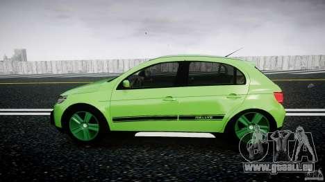 Volkswagen Gol Rallye 2012 v2.0 für GTA 4 linke Ansicht