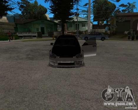Subaru Impreza (exclusive) pour GTA San Andreas vue de droite