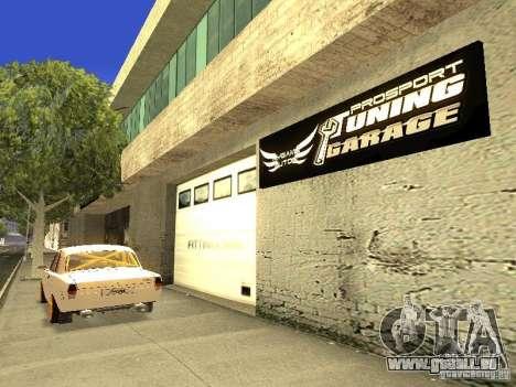 [HD] réseau de Garages MyGame Autos pour GTA San Andreas quatrième écran