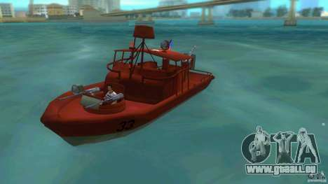 Patrol Boat River Mark 2 (Player_At_Guns) für GTA Vice City