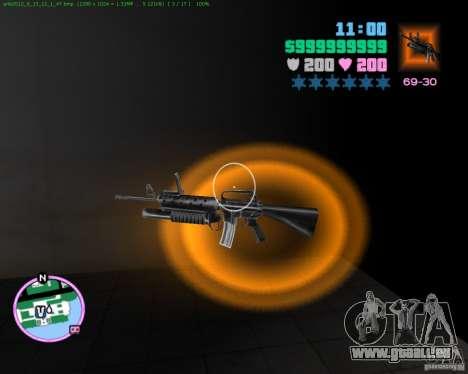 M-16 de : Scarface pour GTA Vice City