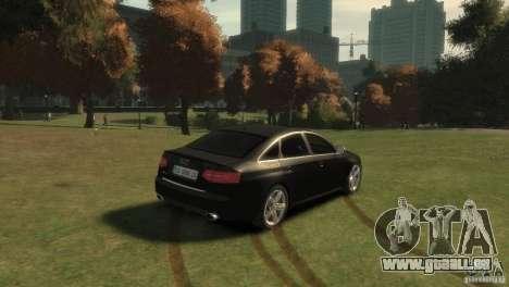 Audi RS6 v.1.1 pour GTA 4 Vue arrière de la gauche