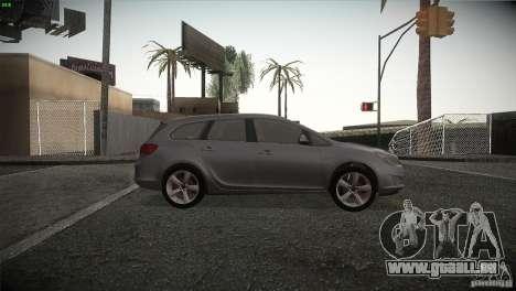 Opel Astra 2010 pour GTA San Andreas vue arrière
