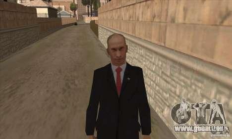 Vladimir Vladimirovich Putin für GTA San Andreas