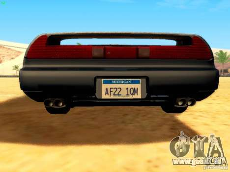 Honda NSX Custom für GTA San Andreas obere Ansicht