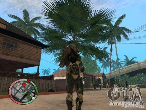 Armes exotiques de Crysis 2 v2 pour GTA San Andreas troisième écran