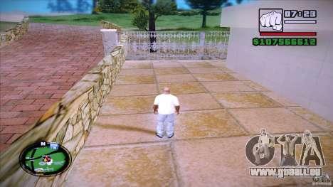HUD by Mr.Shadow pour GTA San Andreas deuxième écran