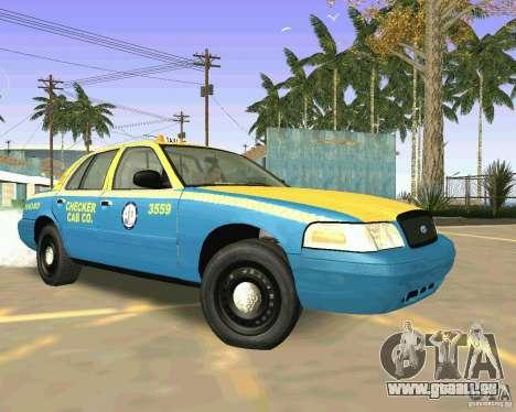 Ford Crown Victoria 2003 Taxi Cab pour GTA San Andreas