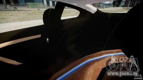 Infiniti G37 Coupe Sport für GTA 4 Innenansicht