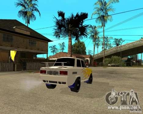 ZAZ 968 m tûningovanyj für GTA San Andreas zurück linke Ansicht