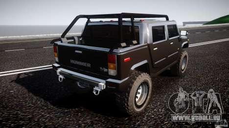 Hummer H2 4x4 OffRoad v.2.0 für GTA 4 Seitenansicht