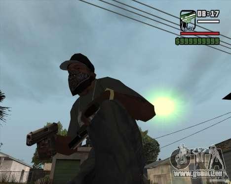 9mm x 19 pour GTA San Andreas deuxième écran