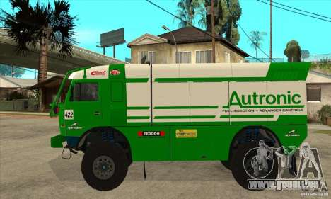 KAMAZ 4911 Rally MASTER für GTA San Andreas rechten Ansicht