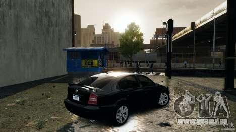 Skoda Octavia v.1.0 pour GTA 4 Vue arrière de la gauche
